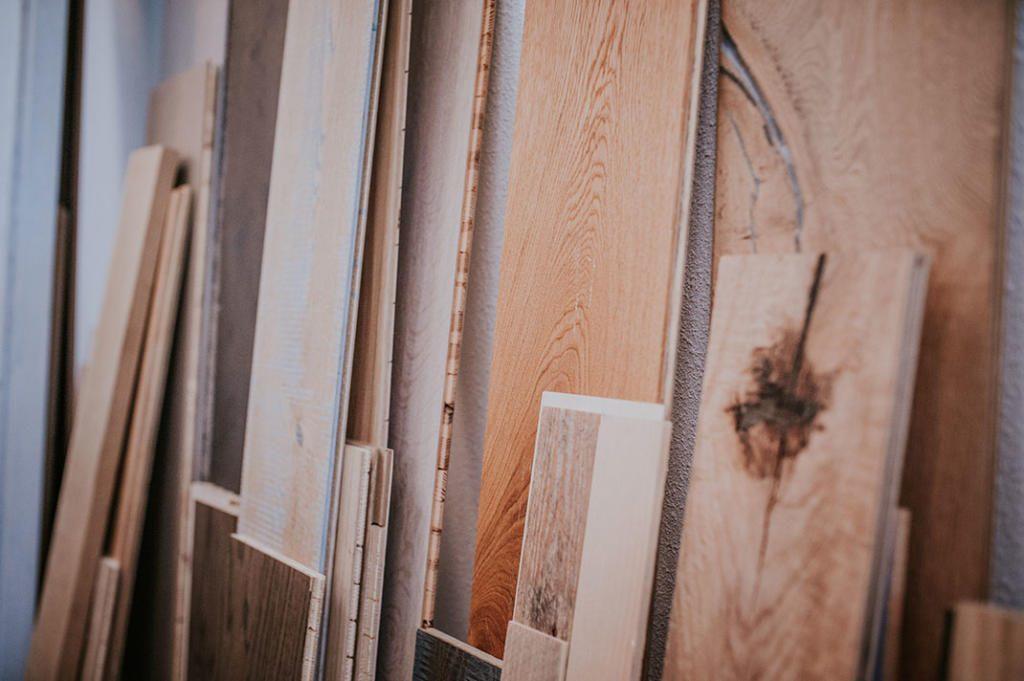 Stukken hout die getest moeten worden