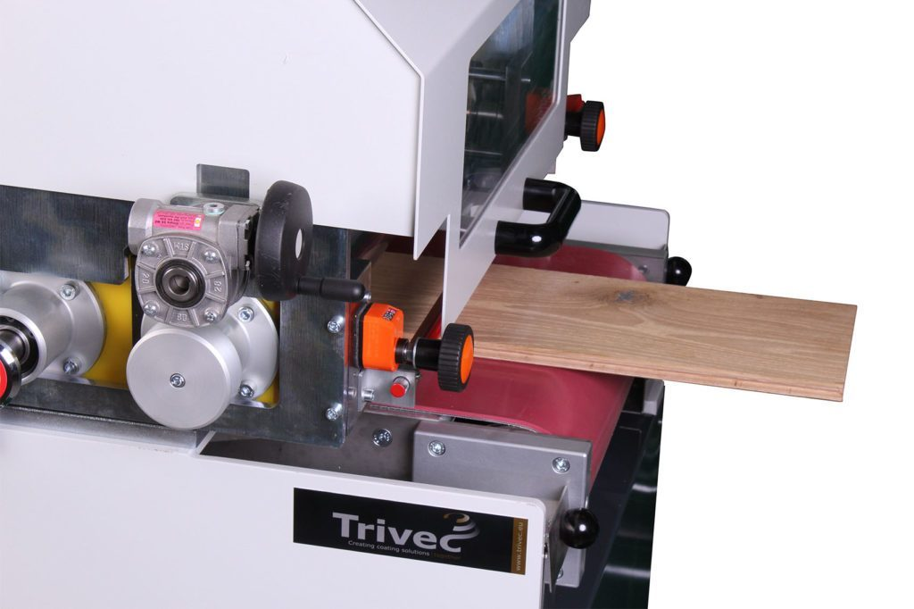 TRV450DC Double Roller Coater Trivec Coating Solutions