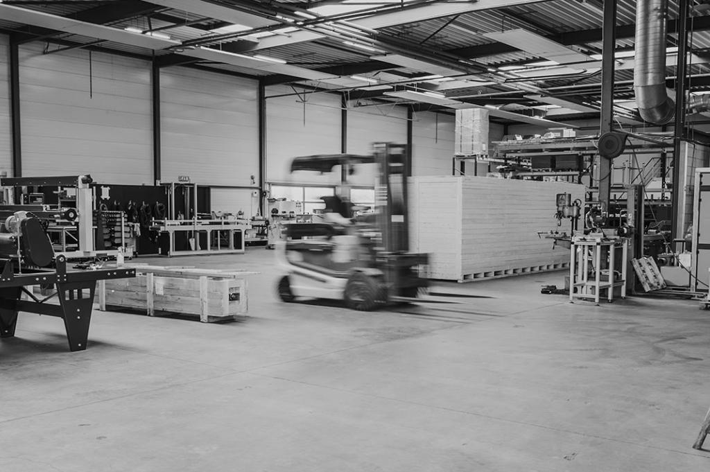 Trivec produceert zelf de machines