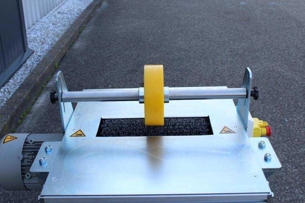 Trivec onderzijde borstelmachine 4