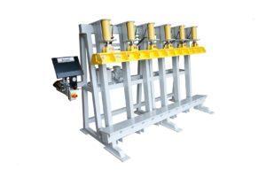 Trivec Vertical Glue Press Trivec Gluing Solutions 1